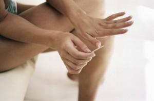 Заболевание ногтей - мутные пластины
